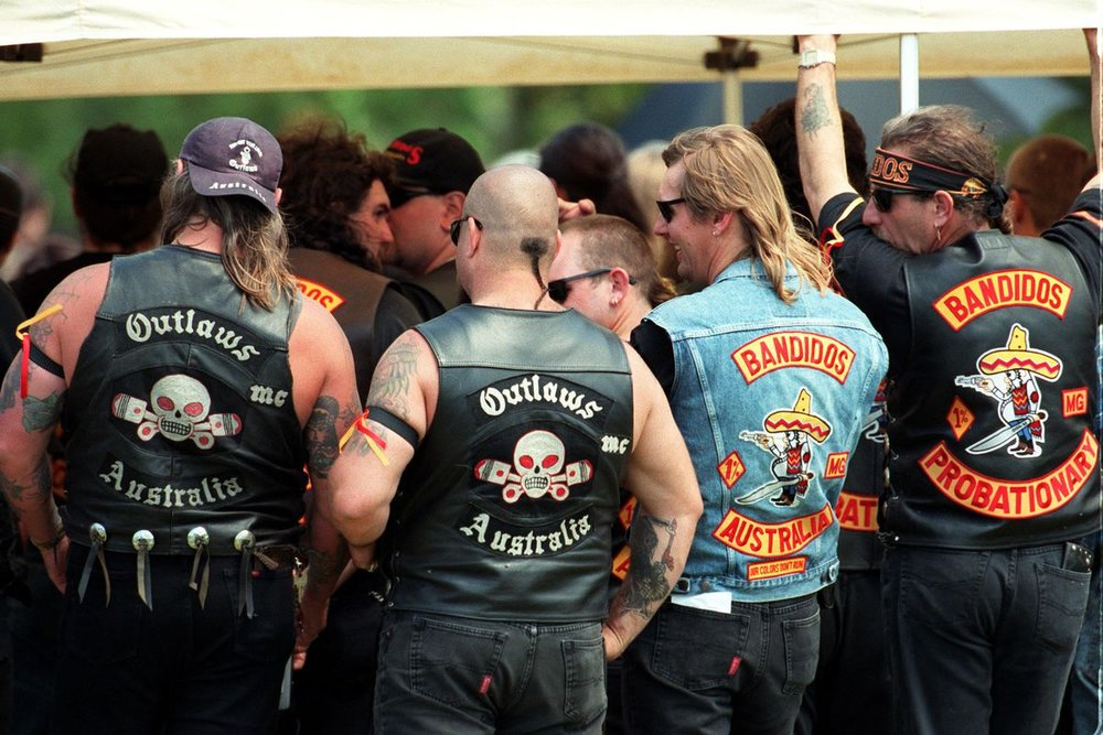 Biker gangs are tribal and dress accordingly