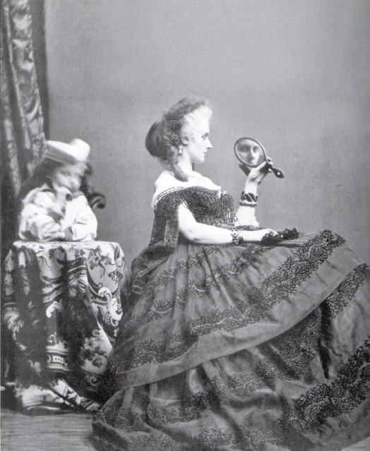 Countess di Castiglione, the worlds first 'selfie queen' came to prominence immediately after the invention of the camera.