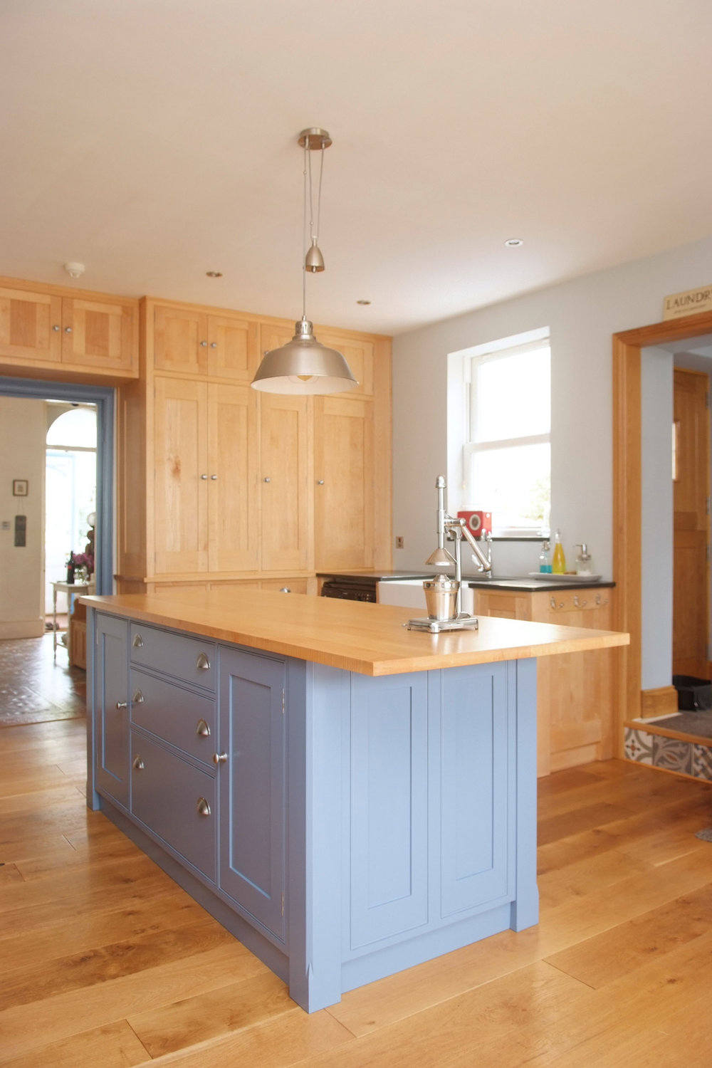 Maple & Painted Kitchen