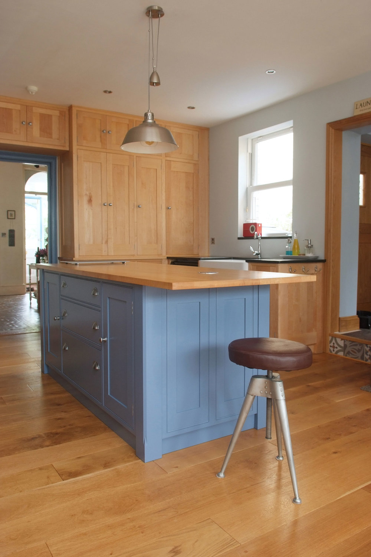 Maple & Painted Kitchen
