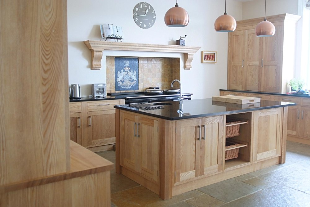 Ash & Granite Kitchen