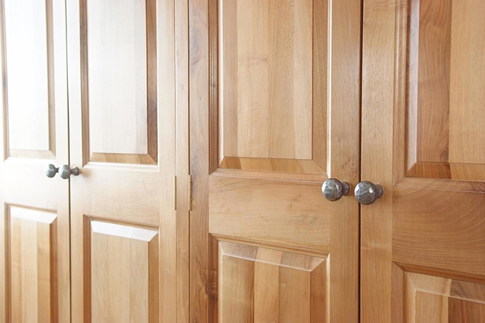 English Walnut Wardrobe