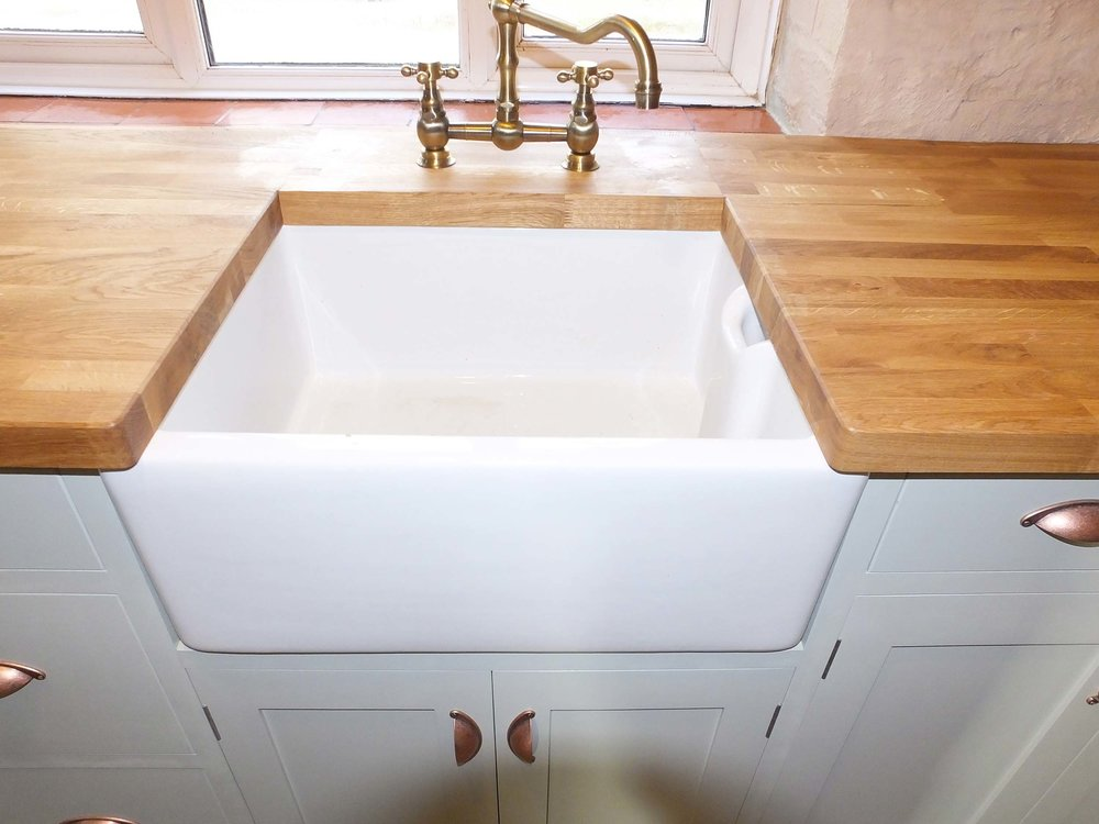 Moorland Cottage Painted Kitchen with Belfast Sink