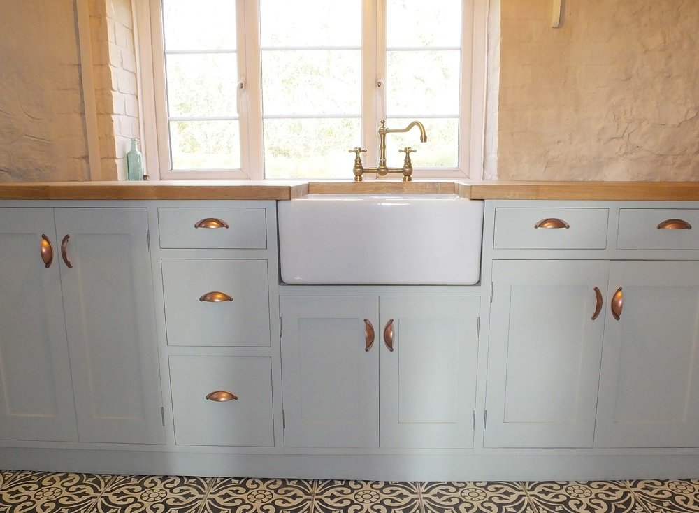 Moorland Cottage Painted Kitchen