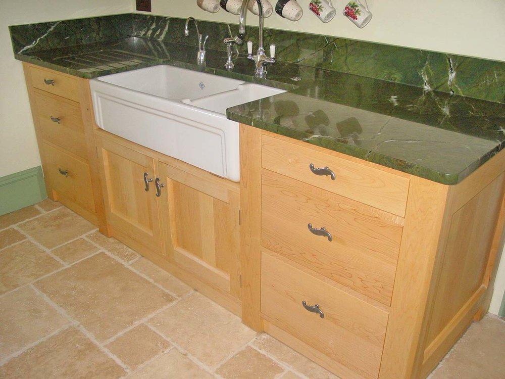 Maple Sink Unit