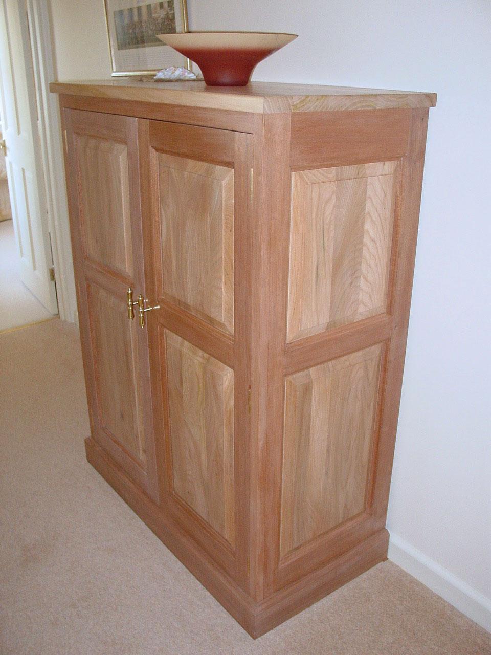 Oak & Utile Cabinet/Wardrobe