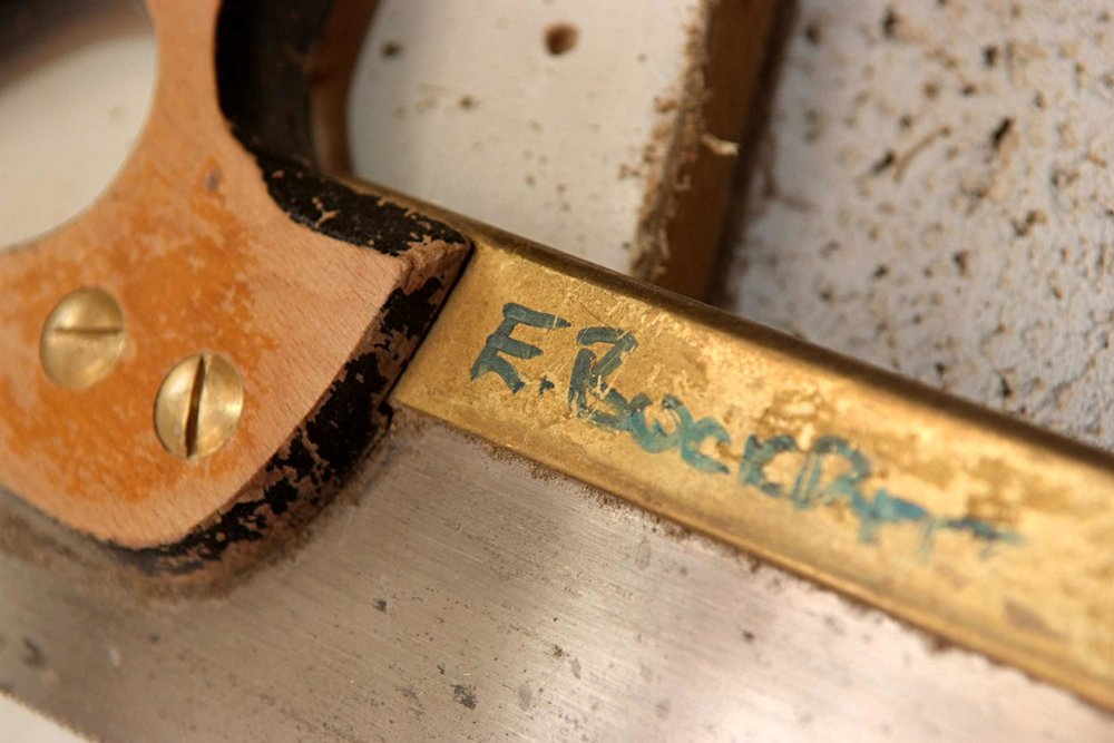 One of my first saws - you can't wark without them!