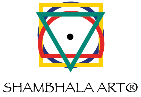 Shambhala Art Logo (Black Text)