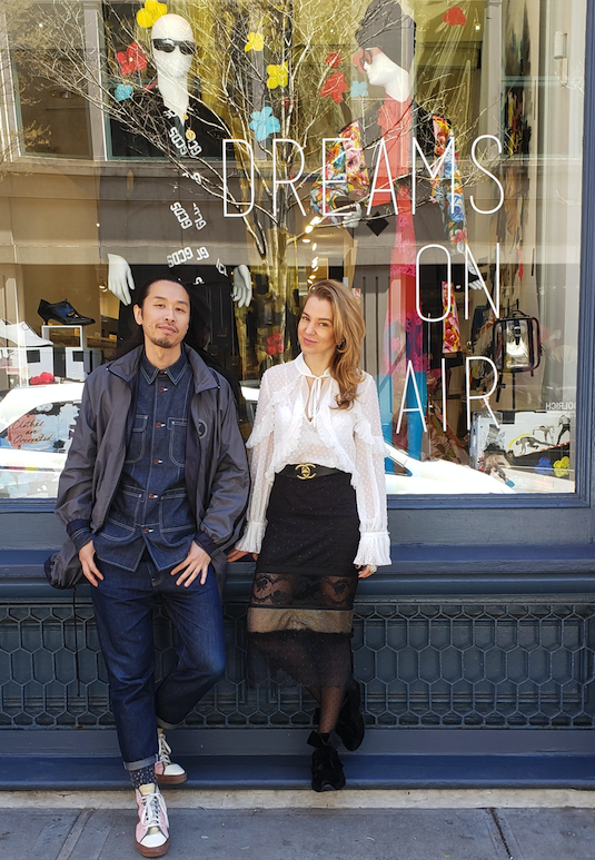 Dreams on Air co-founders Sai Kong and Alise Trautmane