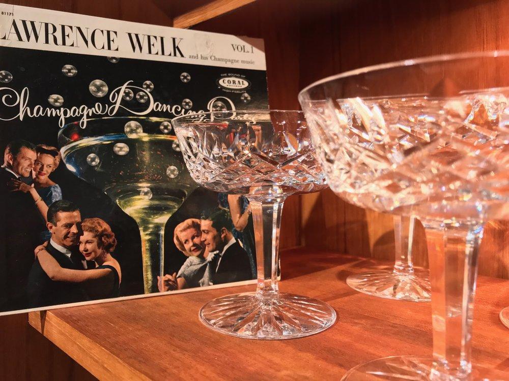 Champagne, sherry, claret, martini, hiballs ... jell-o?