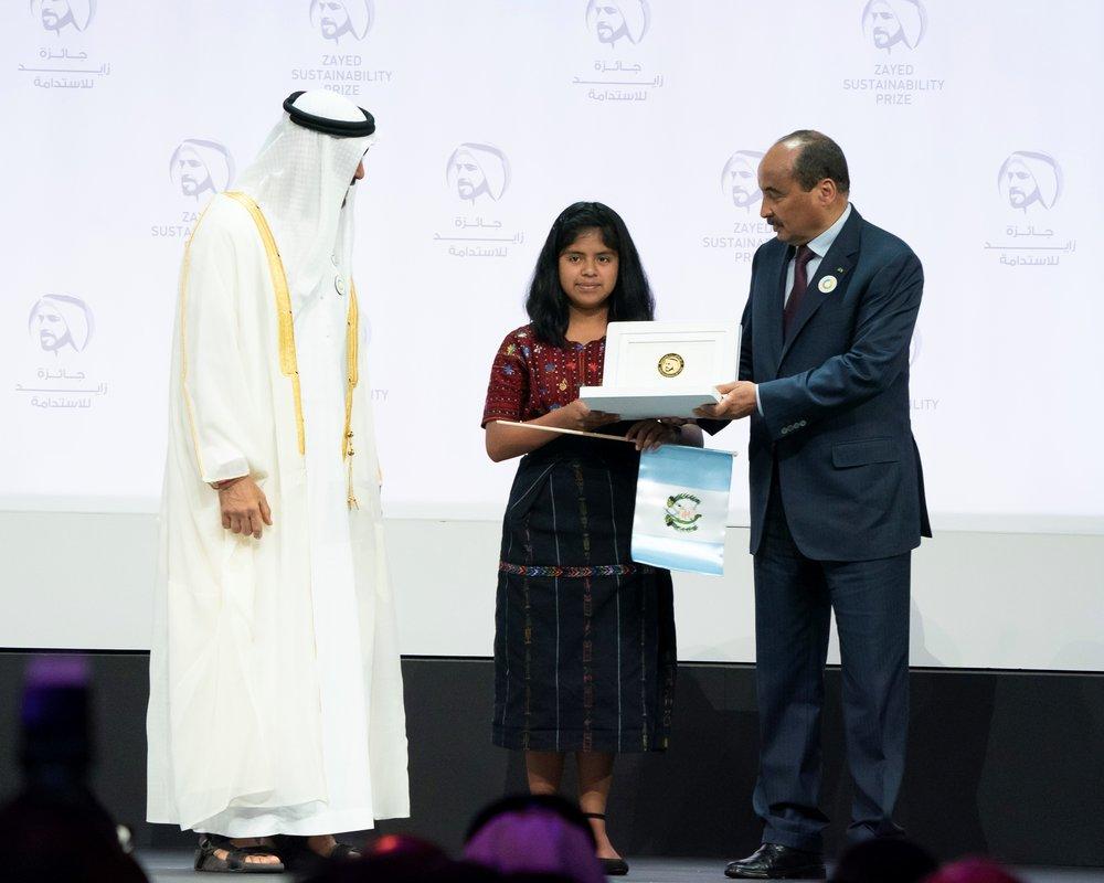 Photo: Zayed Sustainability Prize