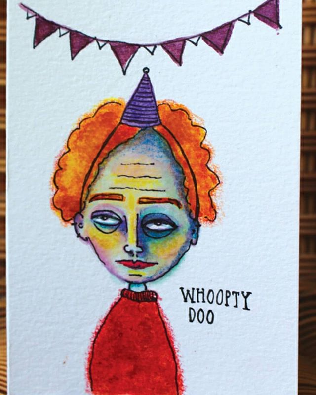 Omg guys. My niece @gabriella.grant who is rediculously talented is finally making her work available!! Go ck her out. Her style and illustrations making me deliriously happy!! . . . . . . . . . .  #illustration_best #birthdays #worldofartists #illustratorsoninstagram #supportartists #birthdaycards #artistsofinstagram #gabriellagrant