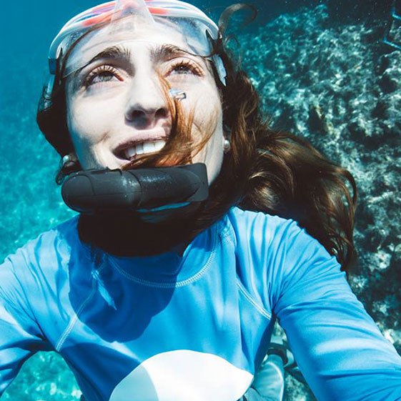 LAURA BABAHEKIAN - PHOTOGRAPHERLaura is the author of the amazing pictures taken during the two last editions of Nirvana Oceanquest. She will be assisted by a team of videographer in and out of the water.