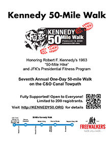 Kennedy 50-Mile Walk Flyer - Click to Print