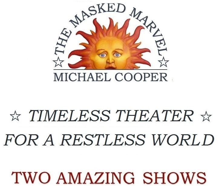 Michael Cooper themaskedmarvel    Two Shows
