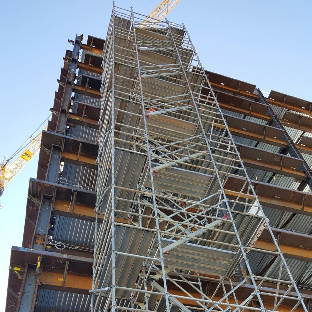 Supported Scaffold -