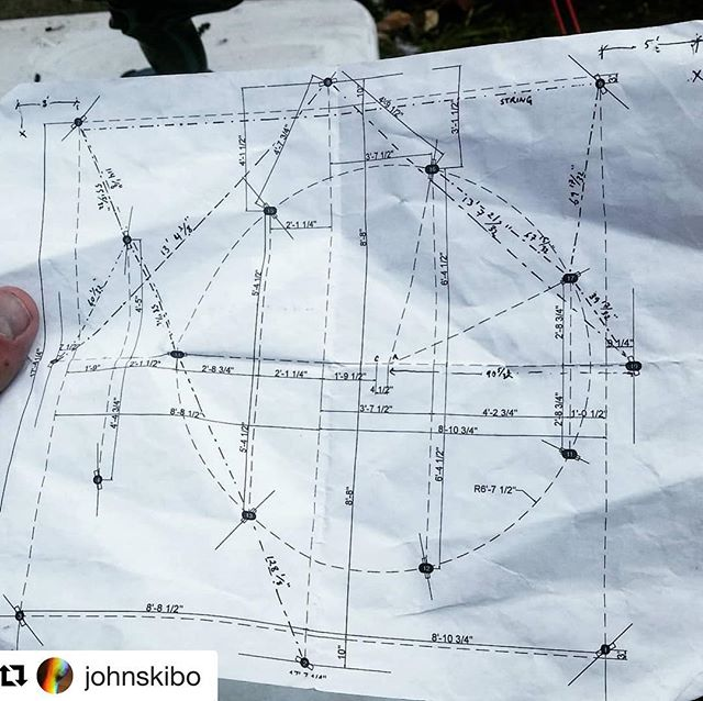 Somehow it all comes together (usually). #Repost @johnskibo with @get_repost ・・・ Complex things put simply.  #losthouseart #gldarchitecture #installationart #publicartboston #nowandthere #circleinsquare #verysmalldimensions