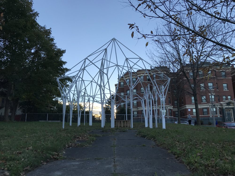 LOST HOUSE - A temporary public art piece that explores the ever-changing nature of the built environment—what remains or is erased over time, and what future possibilities may be.ON VIEW UNTIL JULY 2019