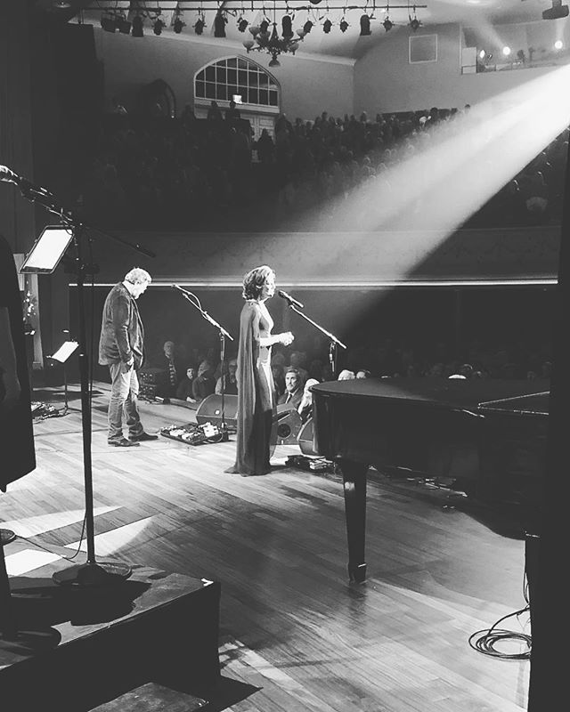 Show #6 is in the books, halfway through this year's run of Christmas shows. Still gives me chills that I get to stand backstage and have this view of the Ryman stage.