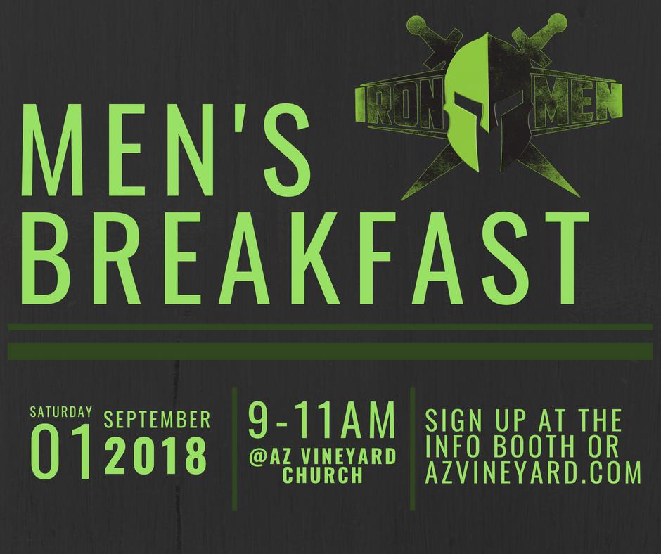 Men's Breakfast at AZ Vineyard Church