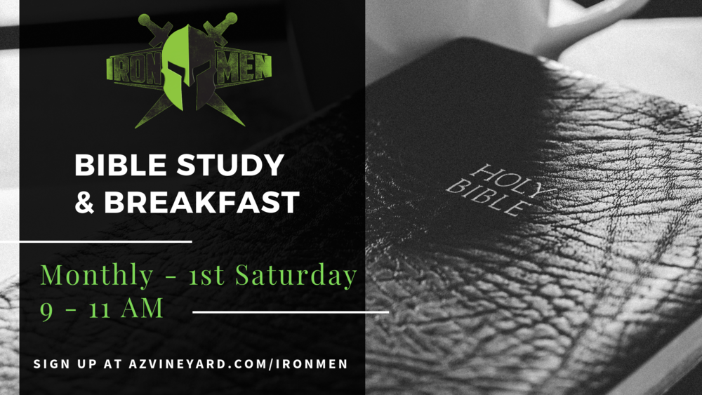 Ironmen's bible study and breakfast
