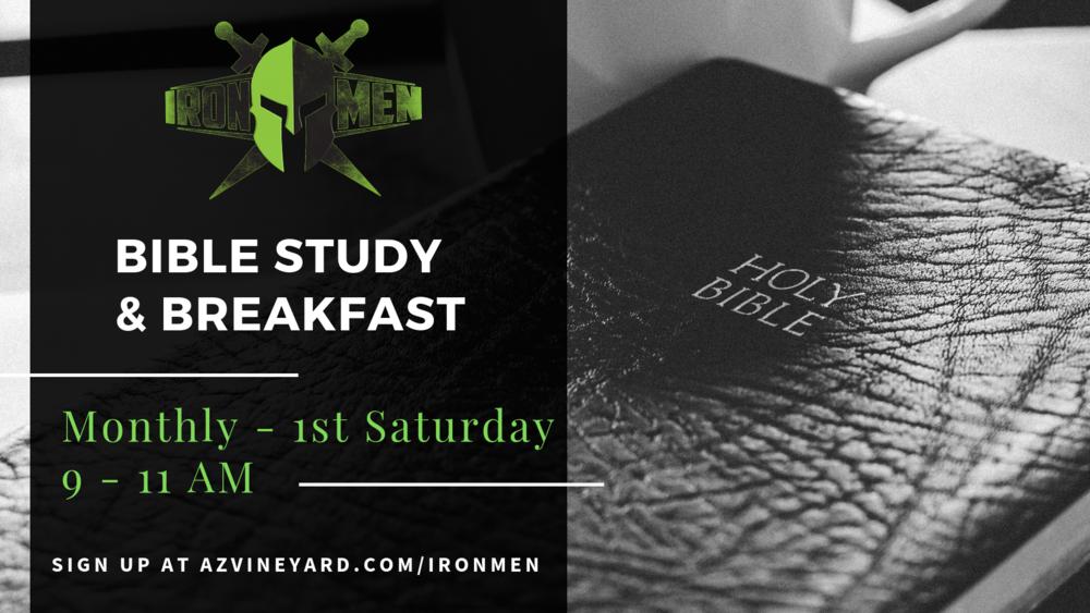 Ironmen's bible study and breakfast