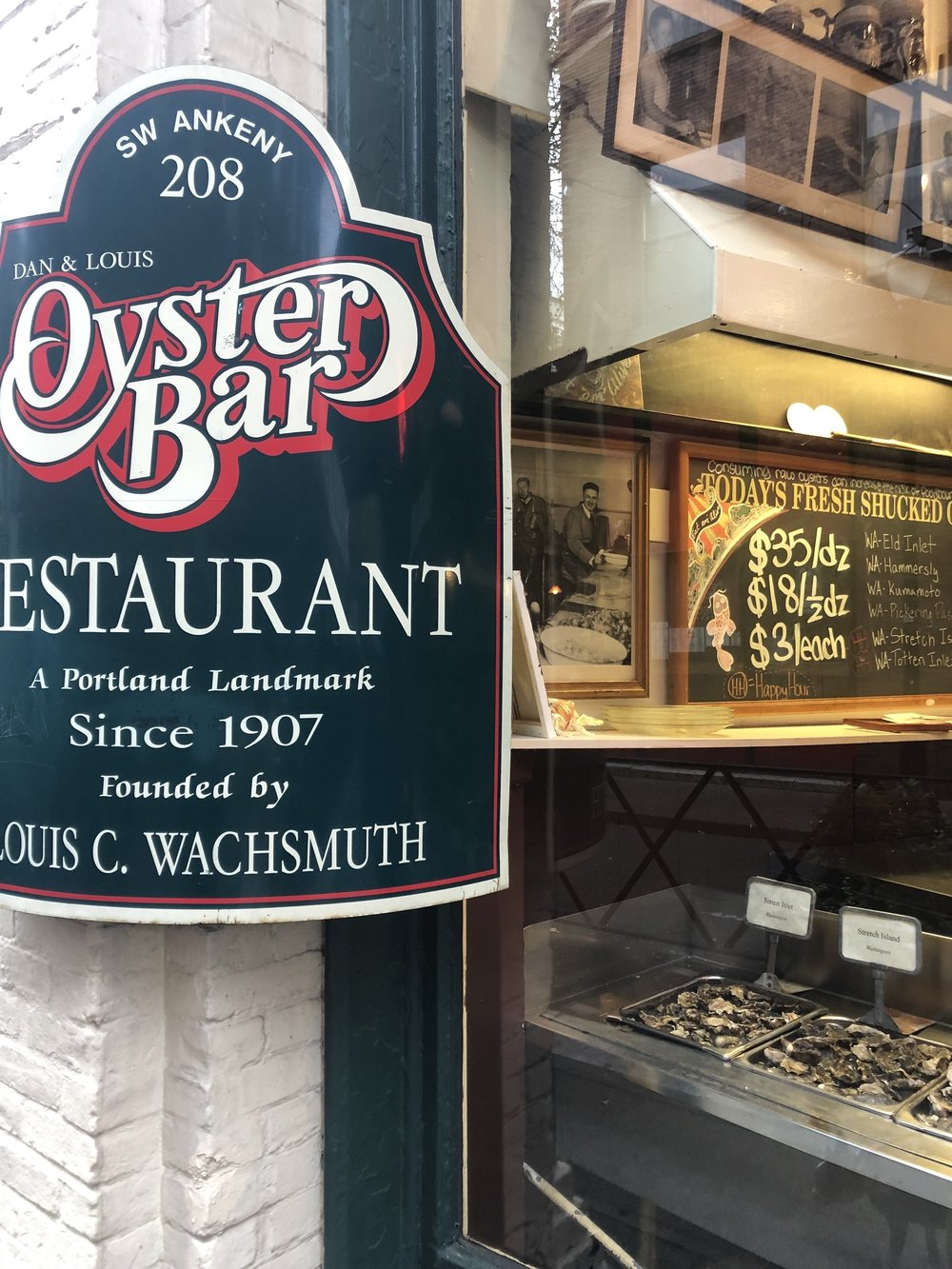 PNW Oysters