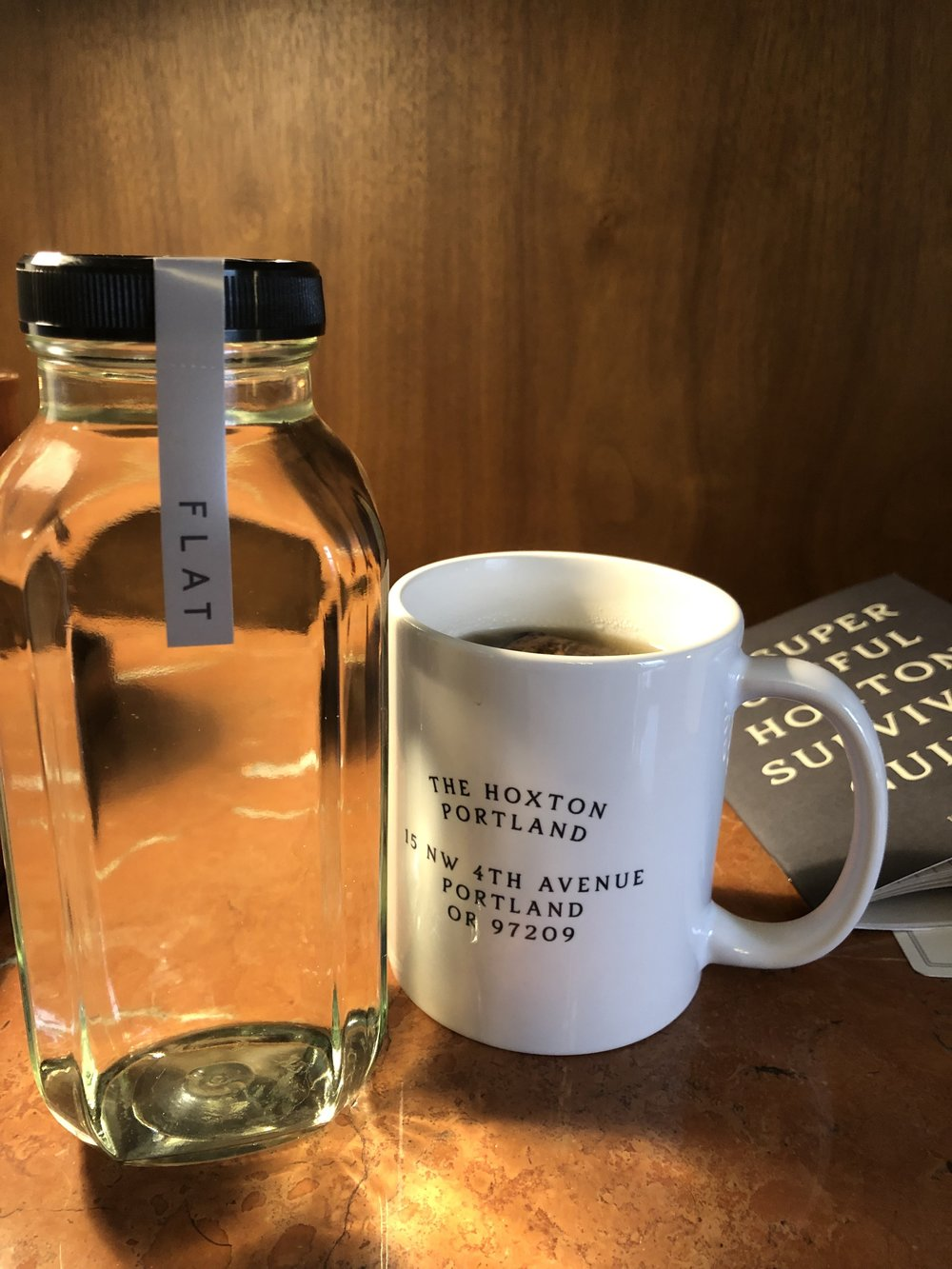 Filtered Water and Coffee Greet Us at the new Hoxton Hotel