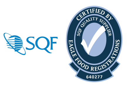 Nuchas is SQF Code 7.2 Level 3 Certified