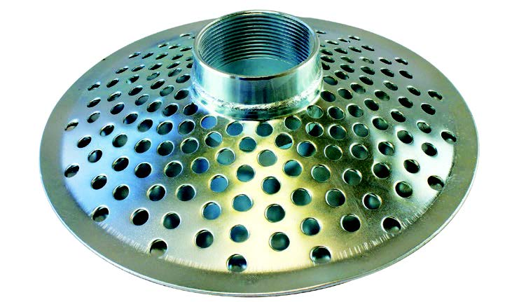 Top Hole Strainer