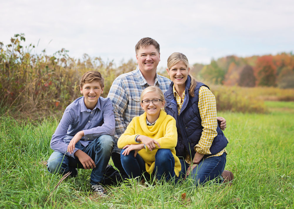 Fall Family Session | Kelly Rhoades Photography