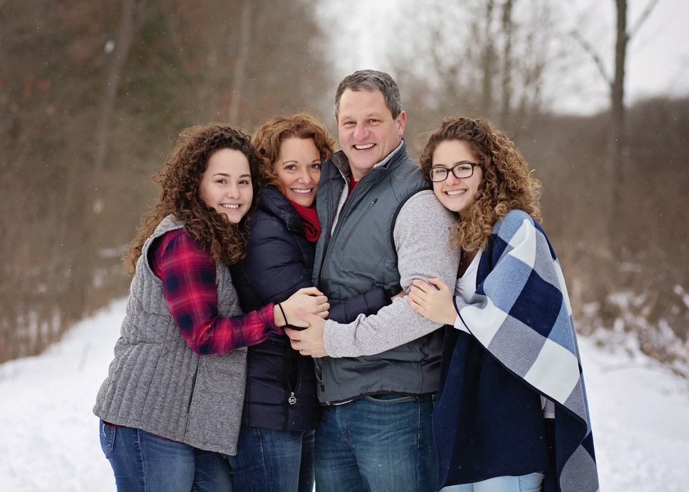 Family Winter Session | Kelly Rhoades Photography