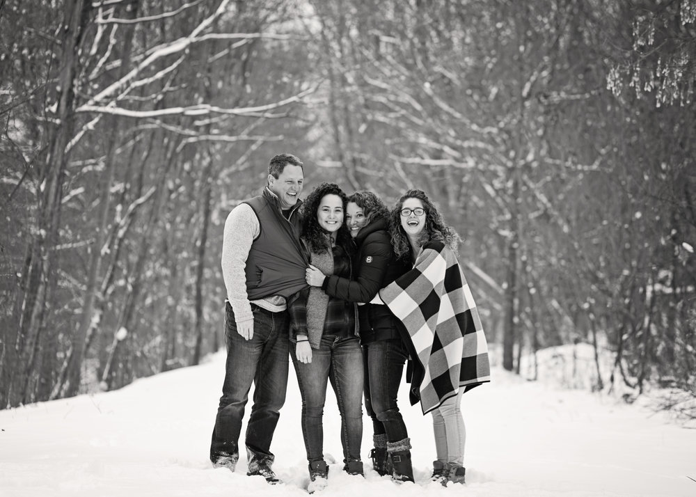 Winter Family Session | Kelly Rhoades Photography