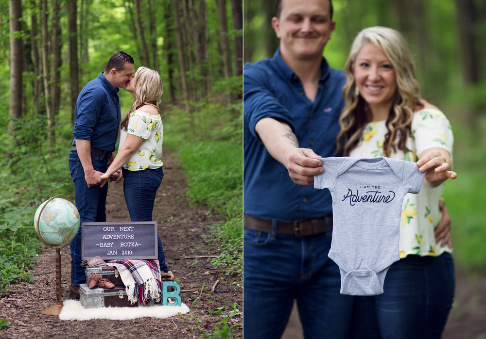 Maternity Announcement | Kelly Rhoades Photography