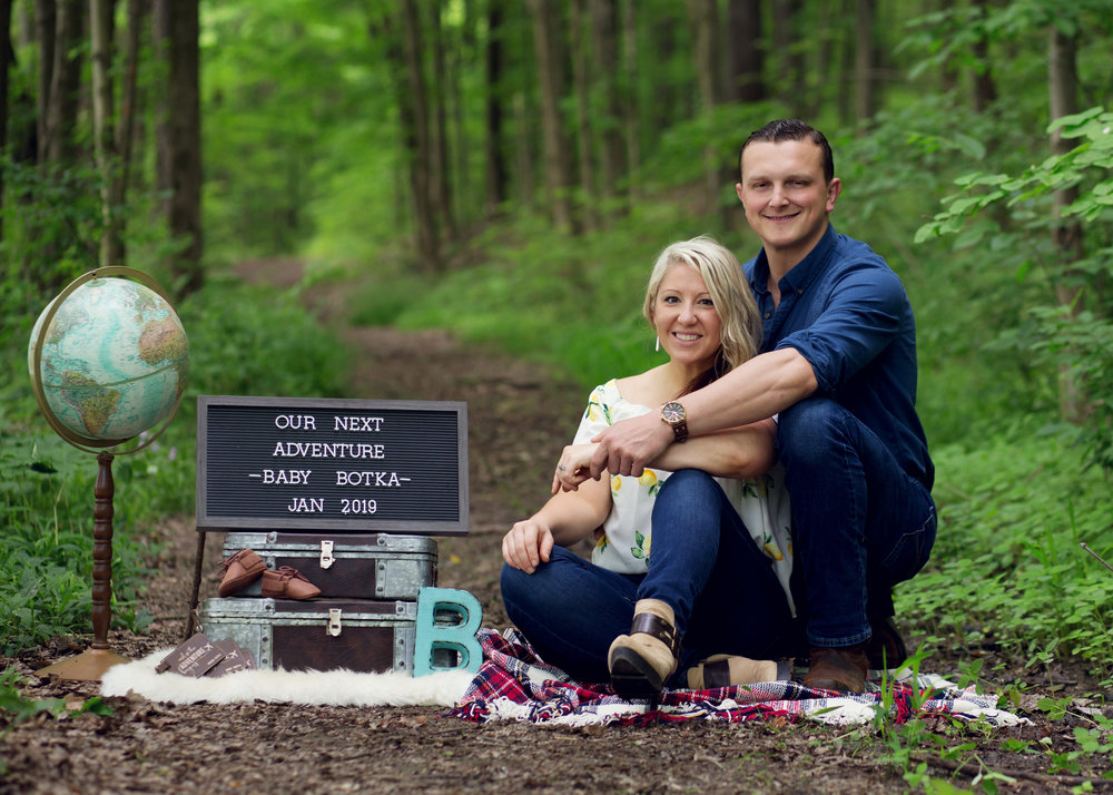 Pregnancy Announcement | Kelly Rhoades Photography