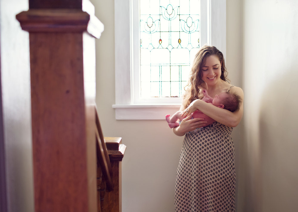 Lifestyle Newborn Session | Kelly Rhoades Photography