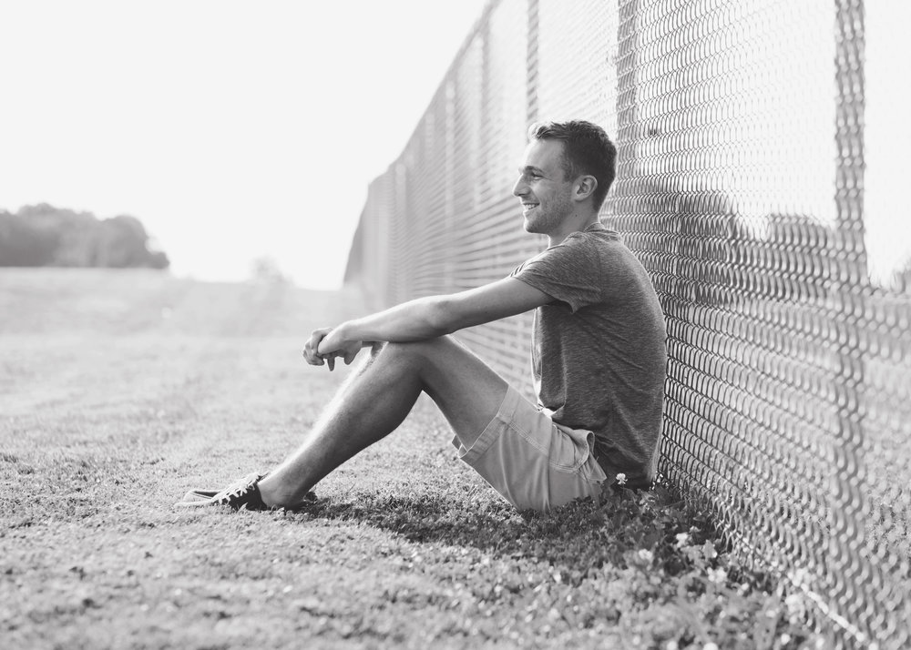 Senior Boy | Kelly Rhoades Photography