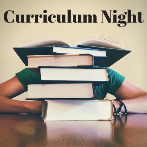 Join us for Curriculum Night tonight (Thursday, 9.27.18) at 7pm! Meet in the gym for a brief intro, then follow your student's class schedule for ten-minute periods.