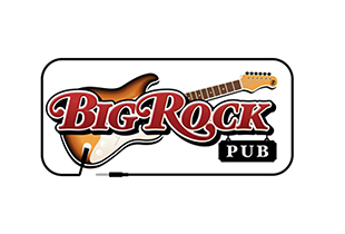 BIG ROCK PUB   There is a special look on the face of a person who has walked into Big Rock Pub for the first time – a look of awe and surprise. It is one of the best parts of being a Big Rock Pub team member. We assure you that what you are witnessing is a true labor of love. Every single instrument, piece of art and memorabilia was individually purchased and hung by owner, Ken Hanna. Yes, he really does love the music and its history that much! But there's more to it than that.    Website