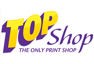 TOP SHOP - THE ONLY PRINT SHOP   TOP Shop will provide you with the necessary tools in order to market your company in all aspects of business. With business cards, postcards, flyers, brochures and other marketing materials. We will help you market to your current customers and assist you with gaining new customers.    Website
