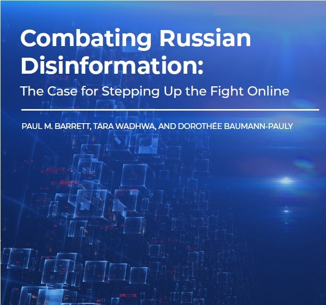 Center publishes report on Russian disinformation campaigns