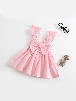 37a562e52 Makenna Bow Dress - Pink — RIV & CO