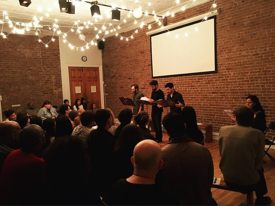 A reading of  Drowning in Cairo  in New York City
