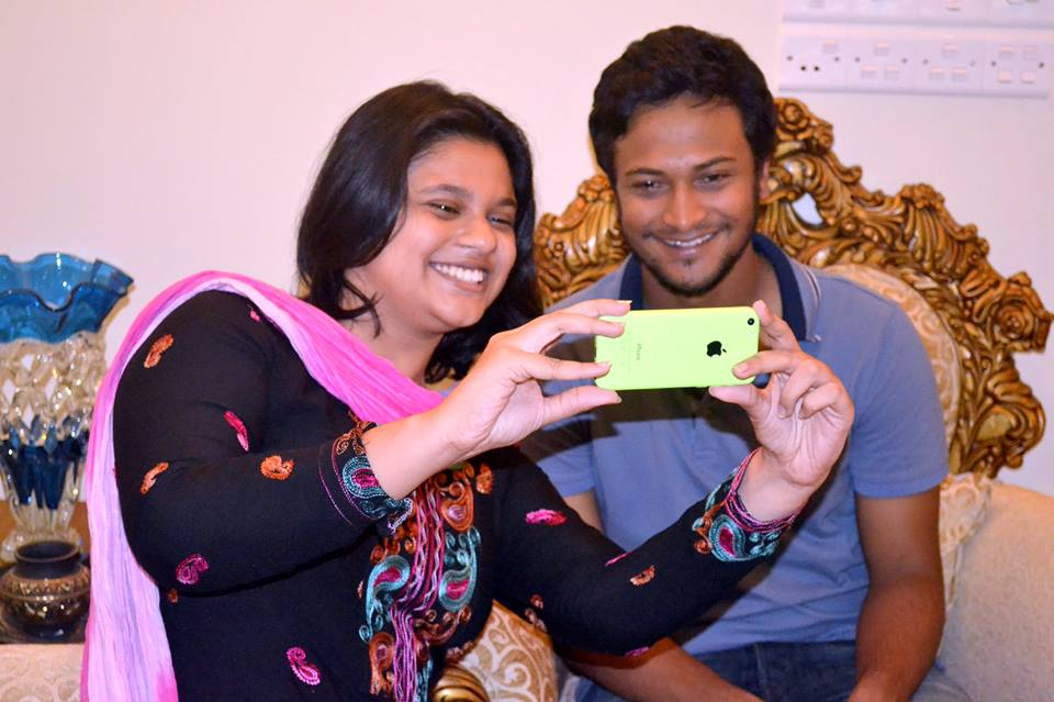 Writer with Shakib Al Hasan, Bangladesh's best player and the number one ranked all-rounder in the world