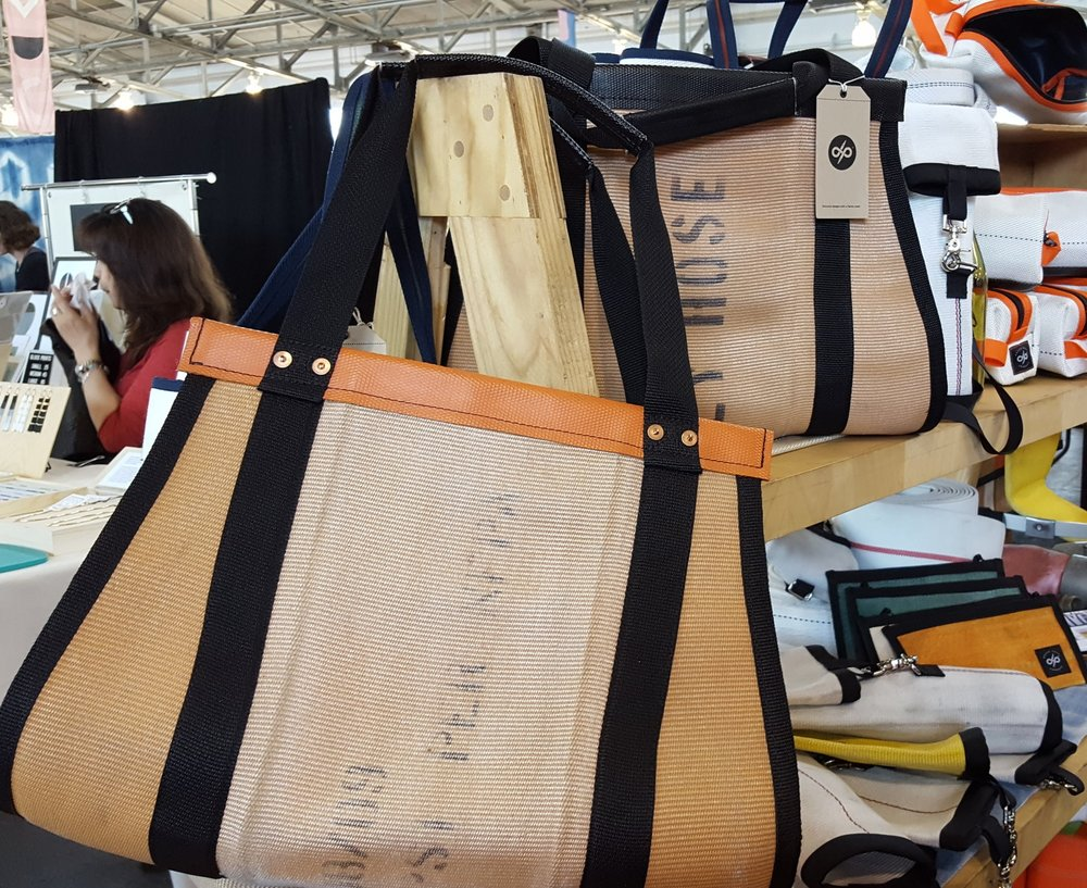 Weekender Bag by Oxgut Hose Company.