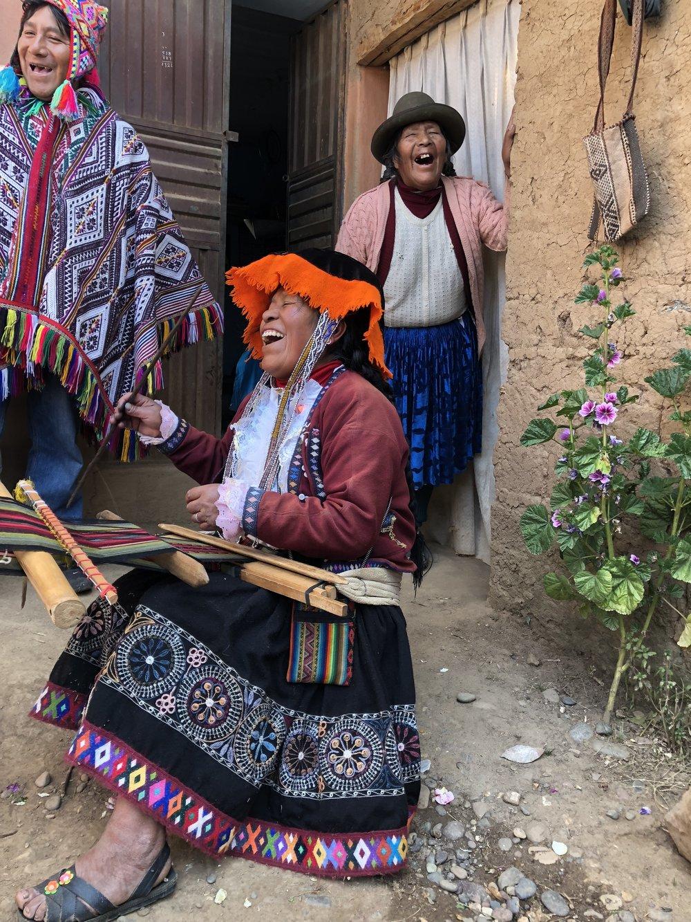 The Master Weavers