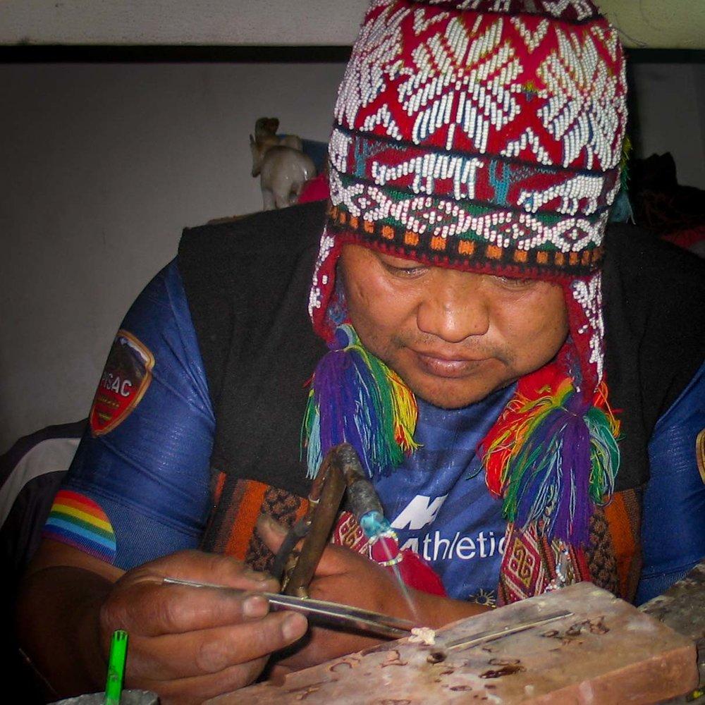 Big Vay Quispe Sullca - Jeweler