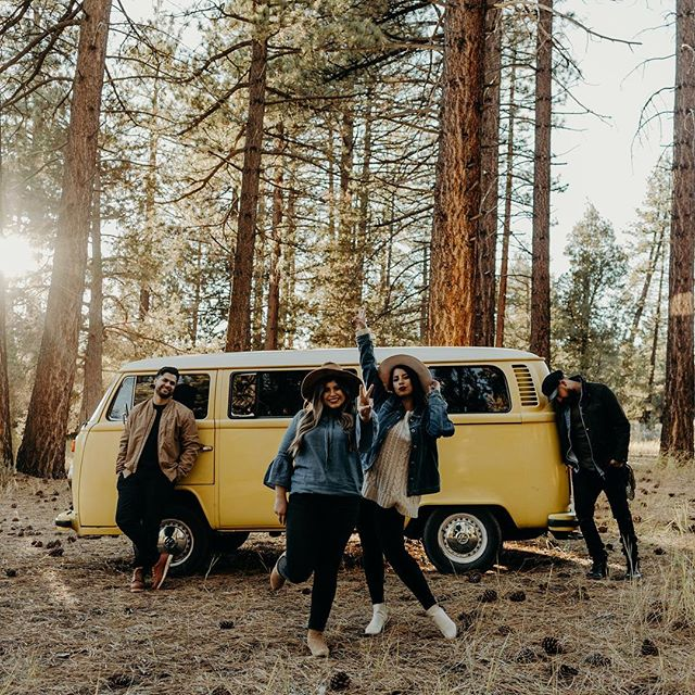 Yeah we did it again, got together and hopped in the buggy let the windows down and saw some of our favorite local sights🚌. ➕LA ➕Santa Monica ➕Joshua Tree ➕Big Bear. #southerncalifornia All that in 24 hours, we did what we do; photographed and filmed all the fun! We even had time to reflect on the beginning of our partnership and cast a small vision for the future! We will be sharing more photos and video soon; but for now, let us know if you have any questions for us?! ➕We are just getting started and would love to know our intimate community! If you love California leave a ☀️ or your favorite emoji for Cali! . . What it's like taking a photo of photographers 😆 . #redlandsphotographer#palmspringsvideographer#thetableshare#weddingteam#intamateweddings#adventurousphotographers#advebturouscouples#elopement#socalelopement#elopementlove#bus#advebture#wanderlust