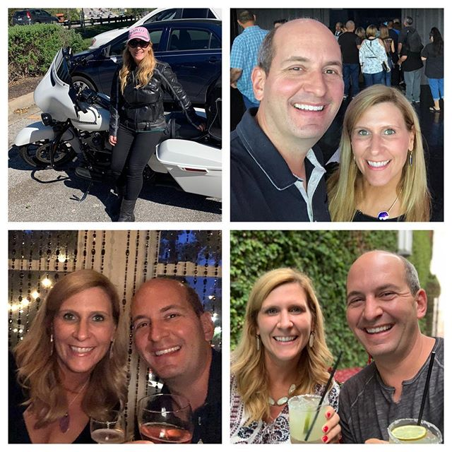 17 years today with this beautiful lady! Thank you @lisadoggett for showing me what a wonderful life together can be like - here's to 17 more years filled with love, laughter, and lots of motorcycle rides! I love you!