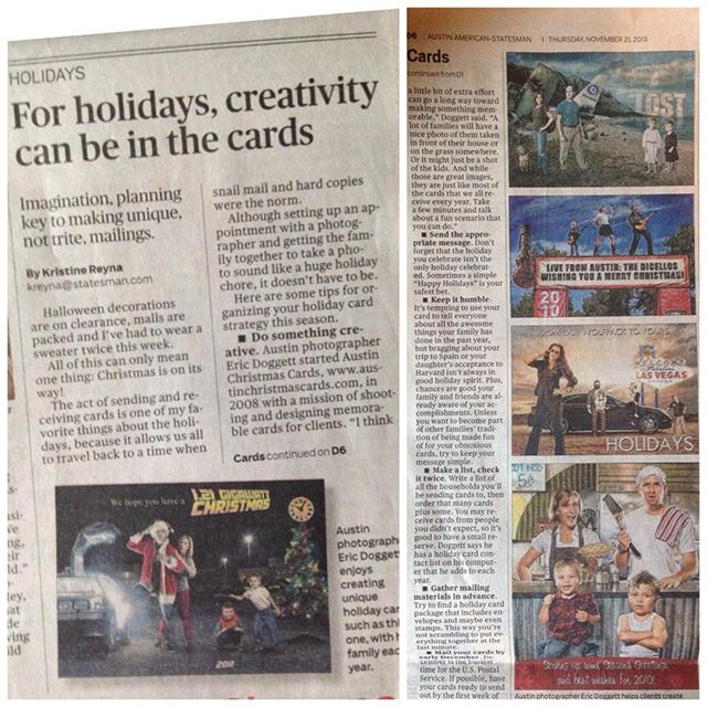 A while back I had a nice write-up of my work in the @statesman newspaper! . . . . . #austin #atx #austintexas #christmas #christmascards #art #holidays #santa #merrychristmas #dallas #houston #houstontx #dallastx #okc #locallove #atxlove #christmas #christmas2018 #ilovechristmas #christmasaddict #christmastree #christmasdecorations #winterwonderland #christmascard #artistsoninstagram #statesman #austinstatesman